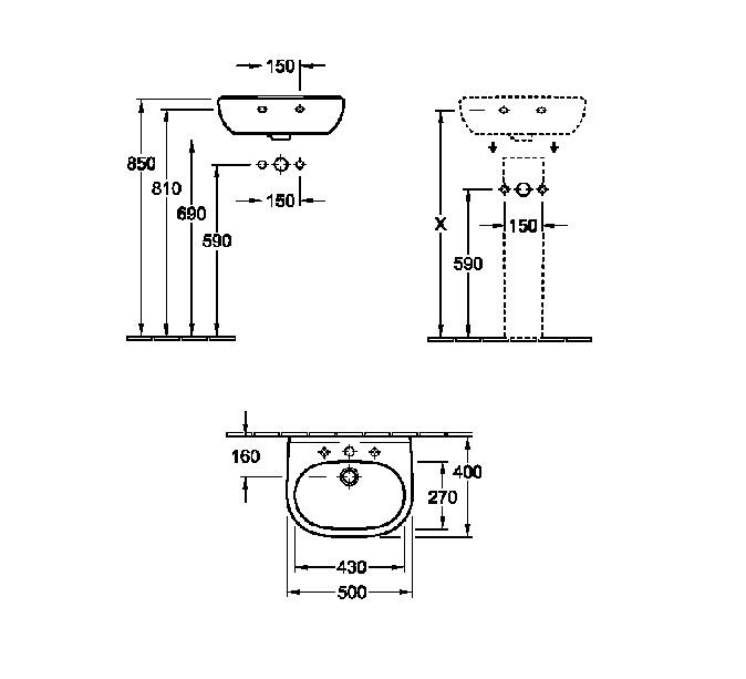 Préférence Dimension Wc Avec Lave Main ~ Veglix.com = Les dernières idées de  CE39