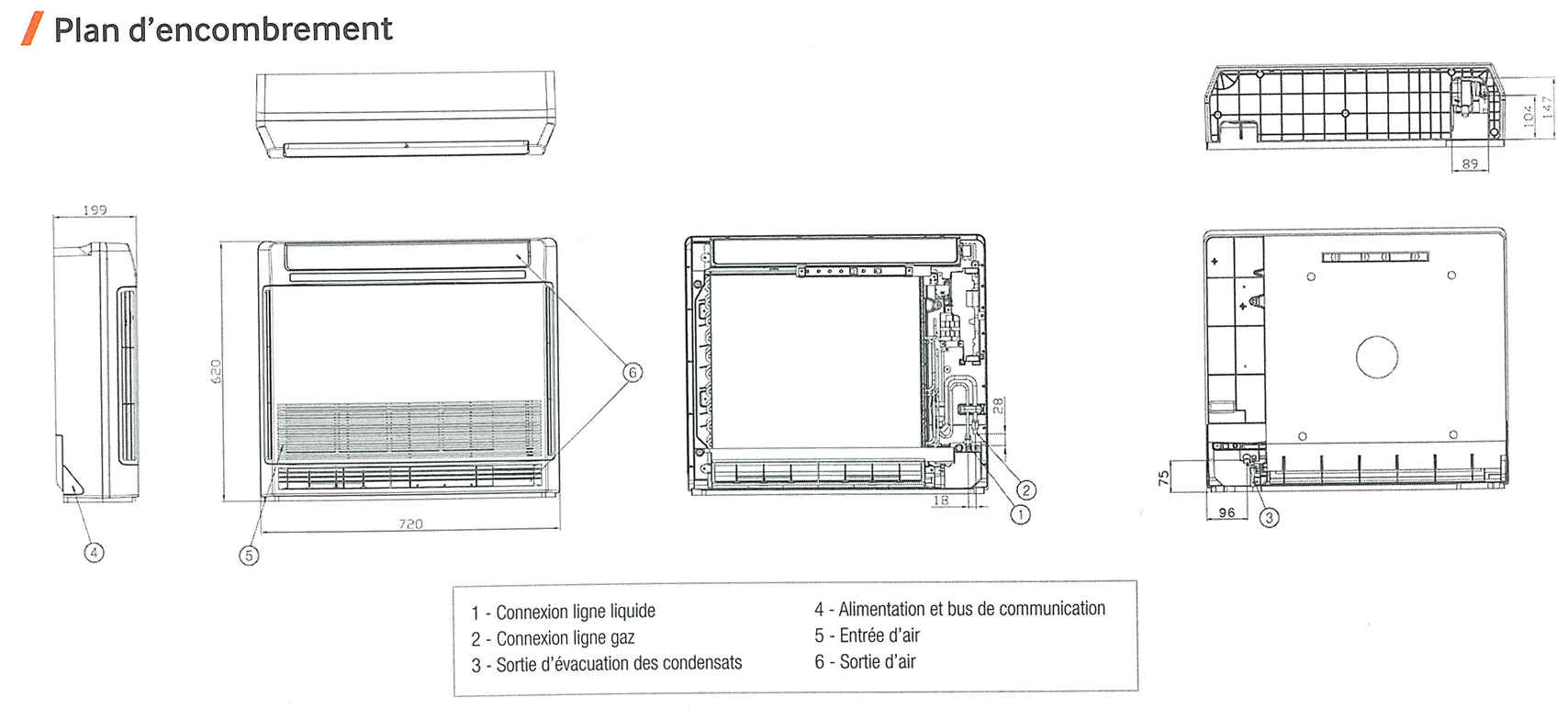 climatiseur console monosplit r versible samsung. Black Bedroom Furniture Sets. Home Design Ideas