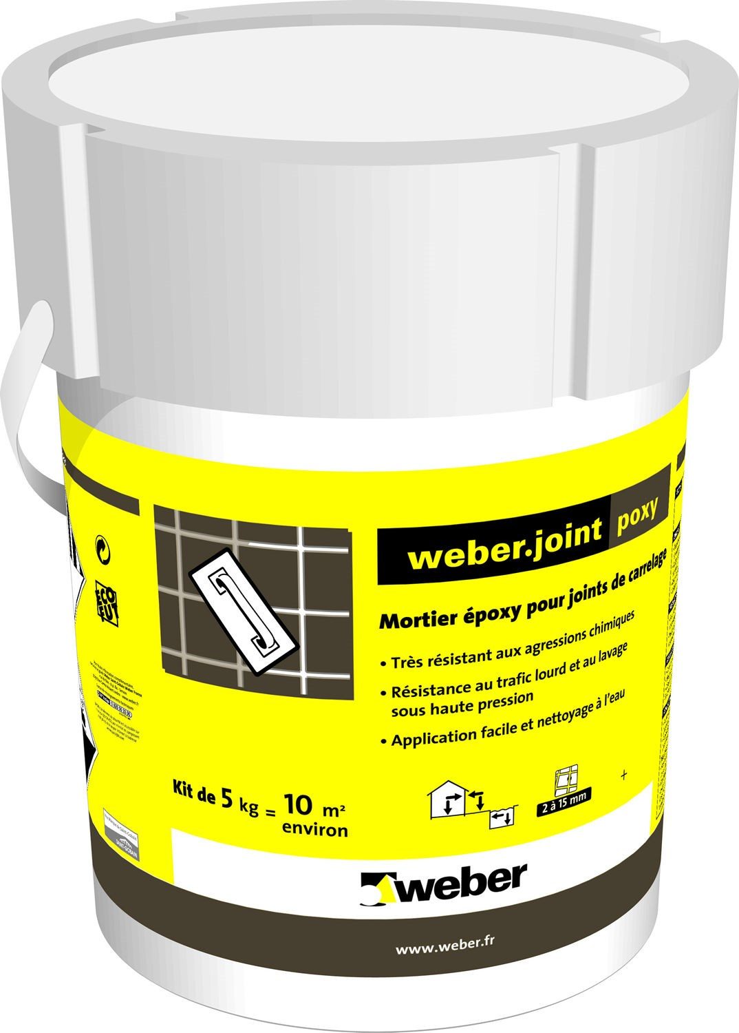 mortier pour joints de carrelage weber joint poxy weber