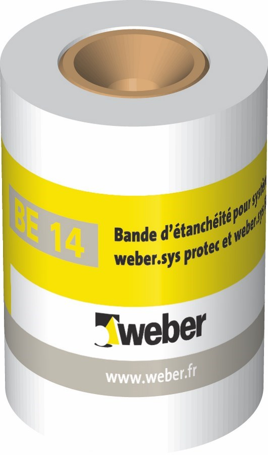 Bande tanchit be14 weber for Joint carrelage hydrofuge weber