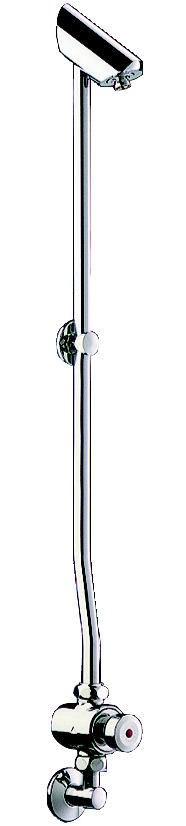 kit avec robinet tempostop pour pose murale en applique delabie. Black Bedroom Furniture Sets. Home Design Ideas