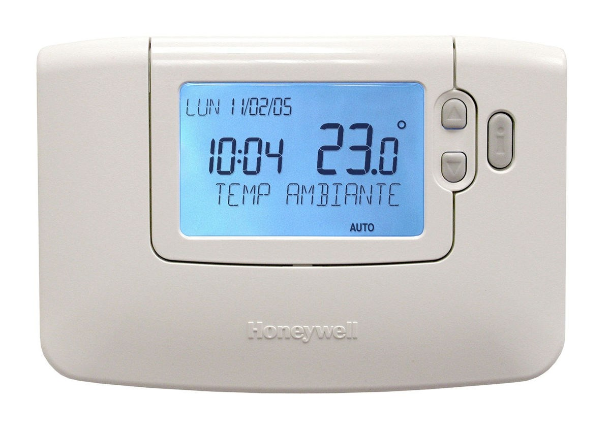 thermostat d 39 39 ambiance programmable hebdomadaire chronotherm honeywell. Black Bedroom Furniture Sets. Home Design Ideas
