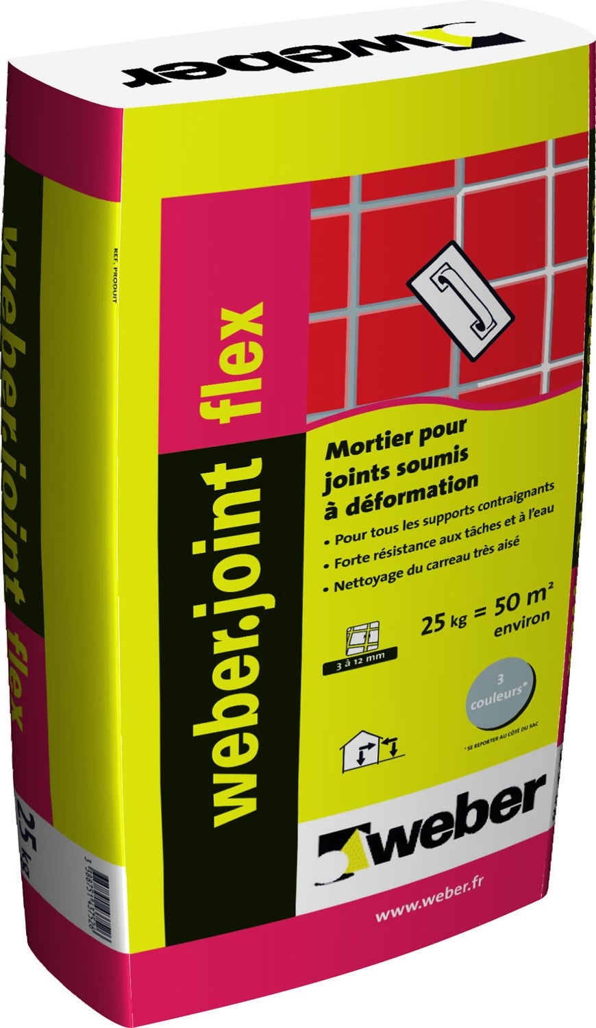 mortier pour joints de carrelage weber joint flex weber