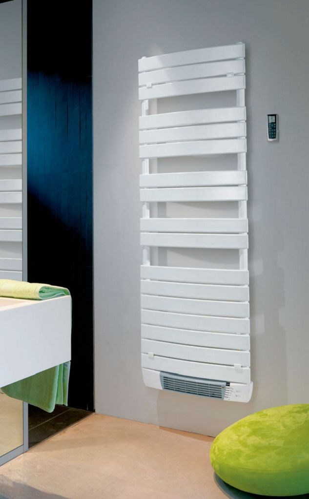 radiateur s che serviette vento lectrique avec soufflerie sanitaire distribution. Black Bedroom Furniture Sets. Home Design Ideas
