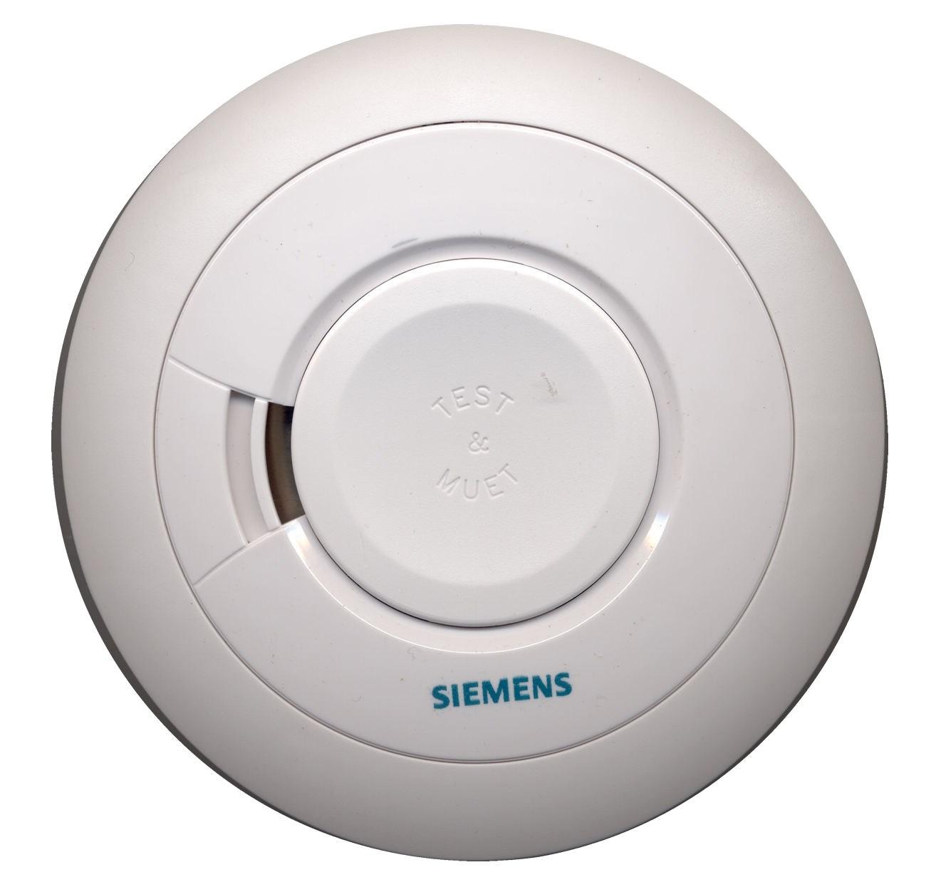 Dtecteur avertisseur autonome de fumes siemens for Alarme pour maison individuelle