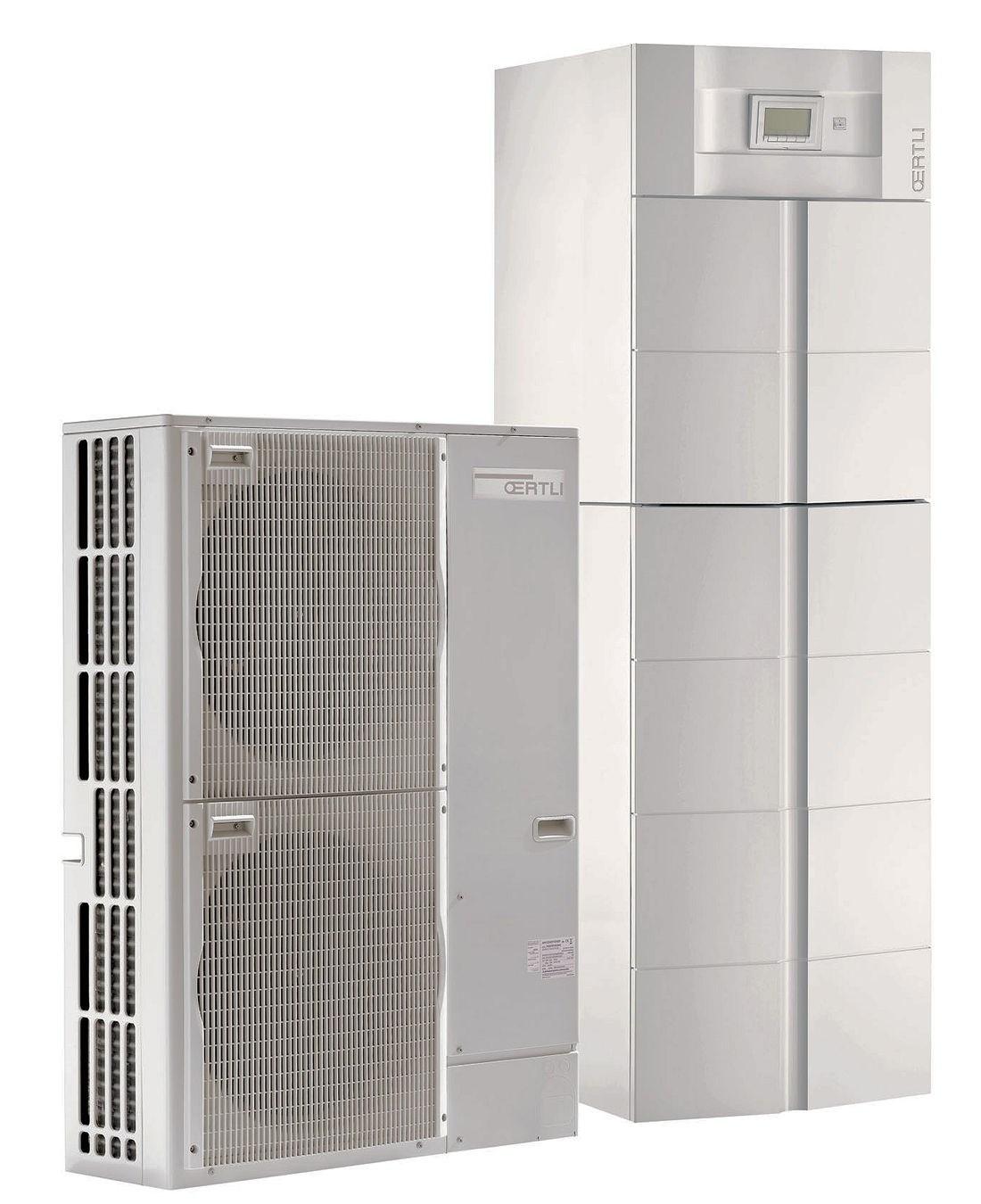 Pompe chaleur air eau oenoviapac colonne 2c split inverter avec prparateur e - Pompe a chaleur inverter air eau ...