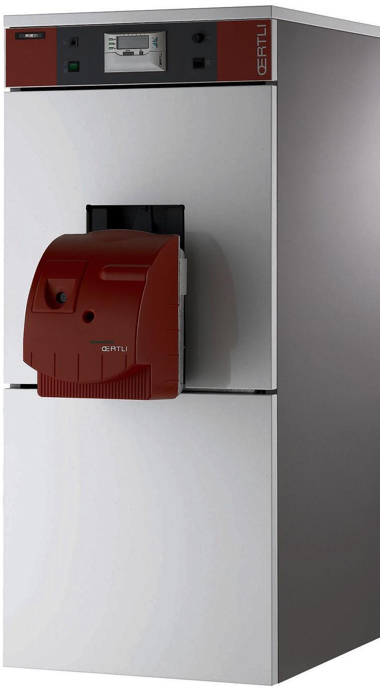 Chaudire sol fioul unit condensation clu 153 condens et - Production d eau chaude sanitaire ...