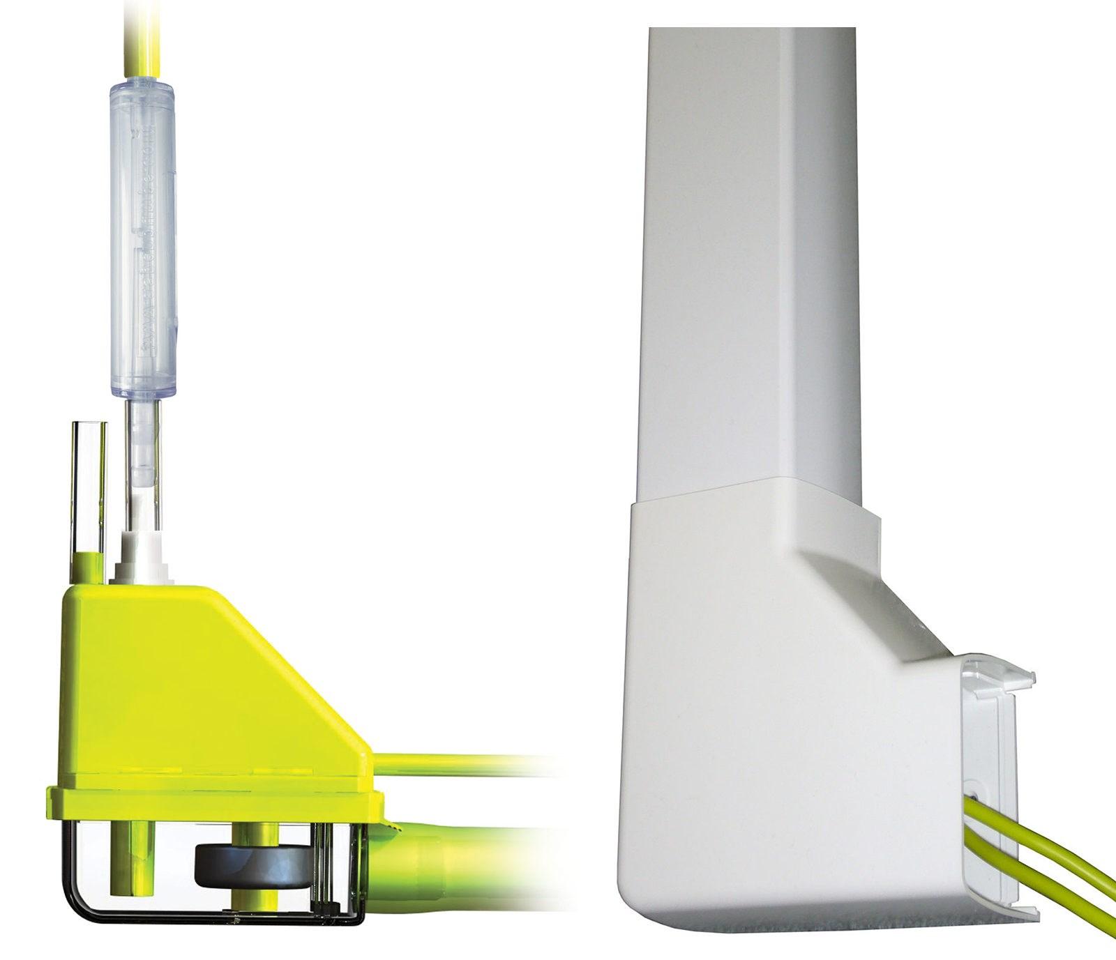 pompe de relevage mini verte optimal silence salina. Black Bedroom Furniture Sets. Home Design Ideas
