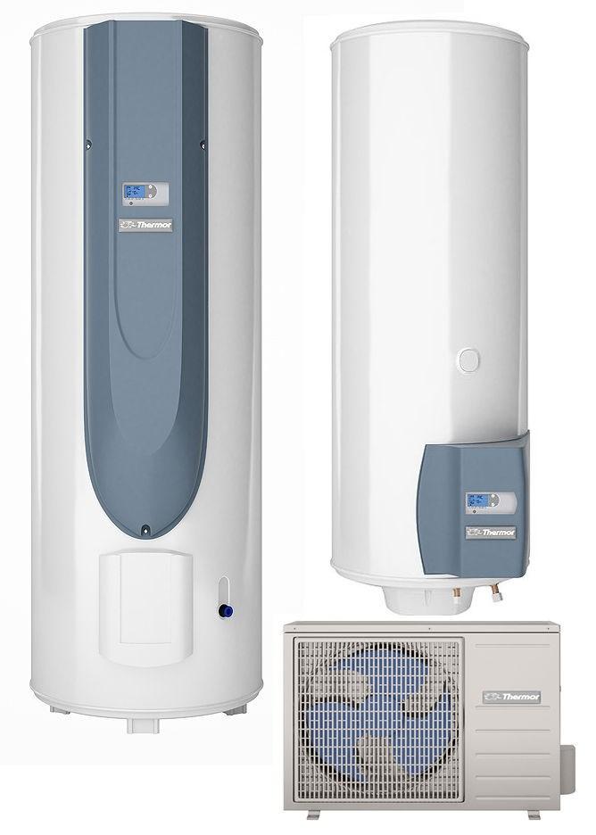 Chauffe eau thermodynamique aeromax split thermor - Chauffe eau thermodynamique installation ...