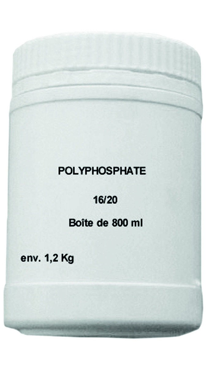 polyphosphate en pot sanitaire distribution. Black Bedroom Furniture Sets. Home Design Ideas
