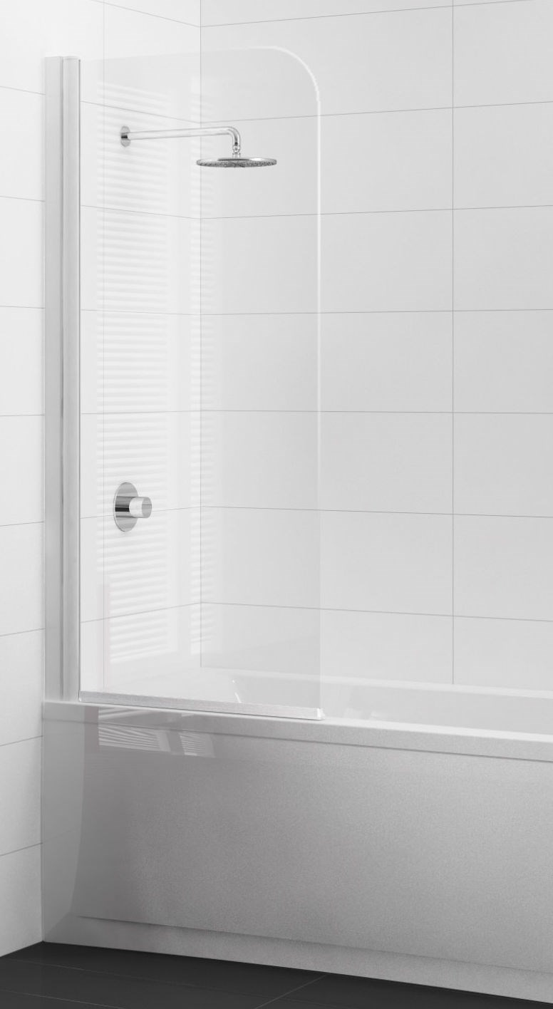 Paroi de baignoire 1 panneau pivotant sanitaire distribution - Panneau de baignoire ...