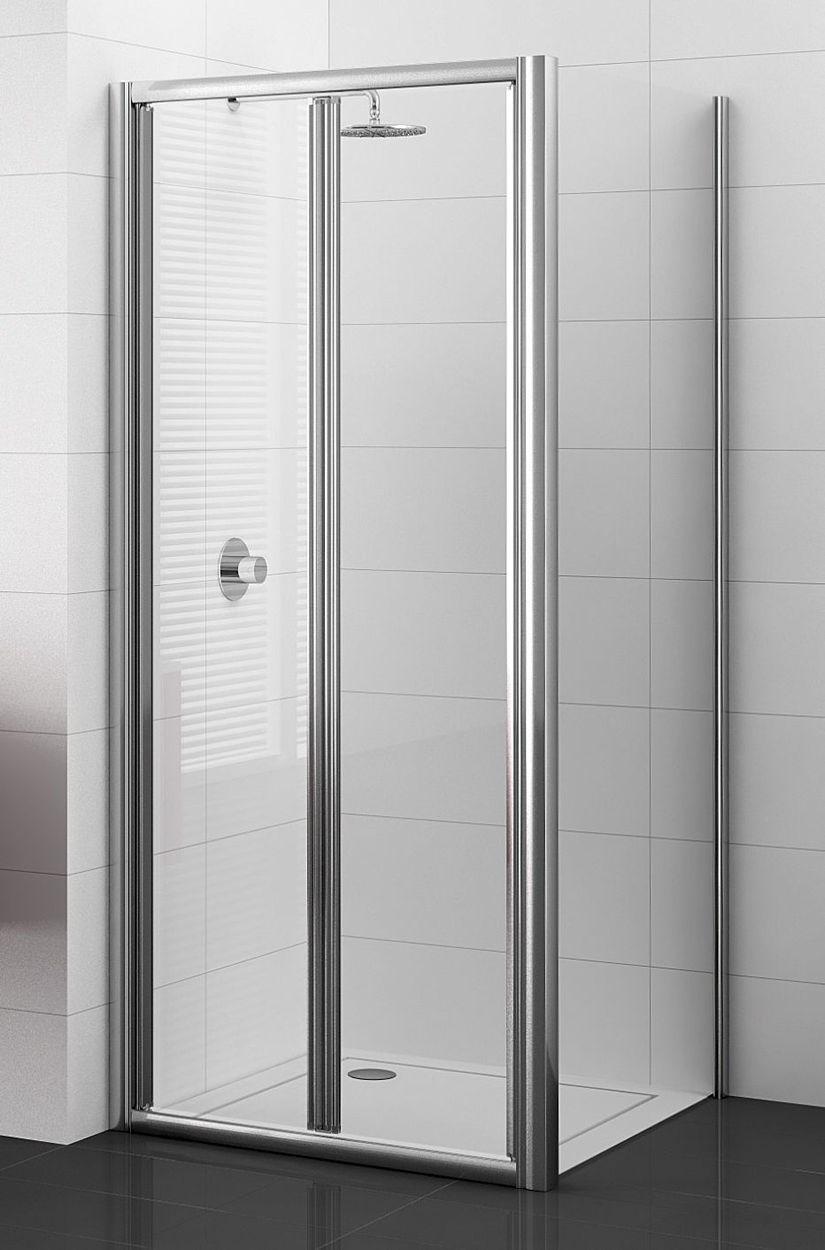 Porte pliante cadree adesio nouvelle gamme sanitaire for Porte pliante