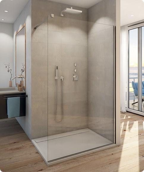 paroi de douche fixe walk in verre paisseur 8 mm ronal