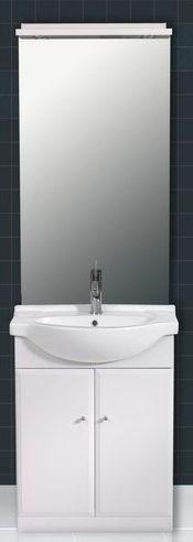meuble salle de bains avec miroir clairage tablette plan cramique et meuble 2 portes diadem. Black Bedroom Furniture Sets. Home Design Ideas