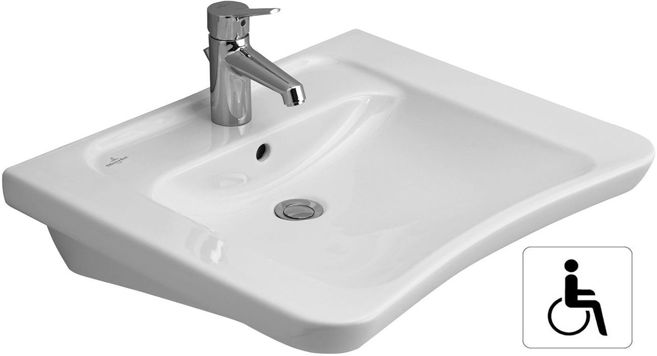 lavabo targa architectura vita villeroy et boch. Black Bedroom Furniture Sets. Home Design Ideas