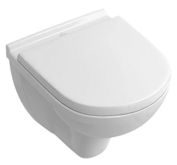 cuvette de wc suspendue o novo compact villeroy et boch. Black Bedroom Furniture Sets. Home Design Ideas