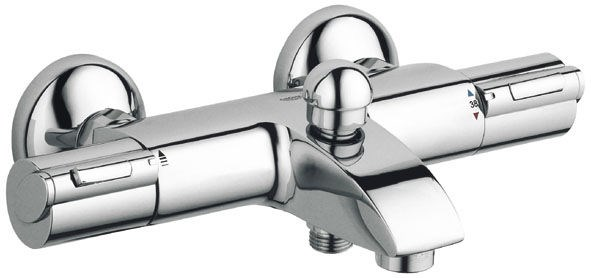 Mitigeur thermostatique bain douche grohtherm 1000 c3 grohe - Mitigeur thermostatique bain douche monotrou grohe ...