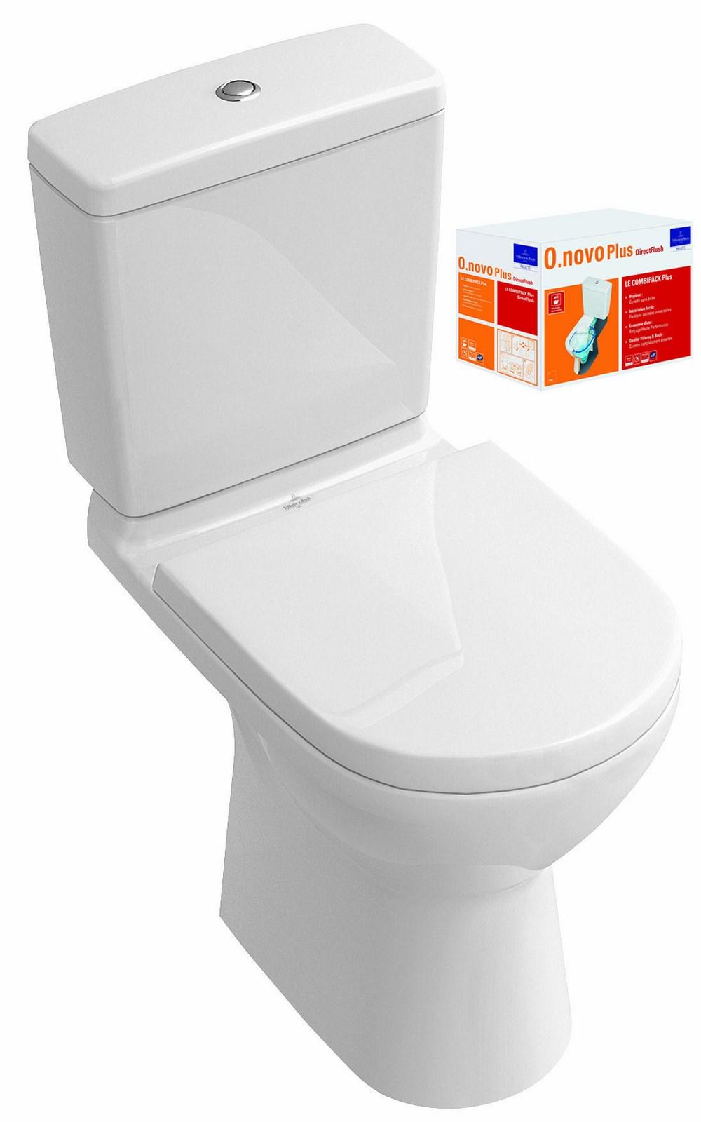 Combi pack o novo direct flush villeroy et boch - Pack wc villeroy et boch ...