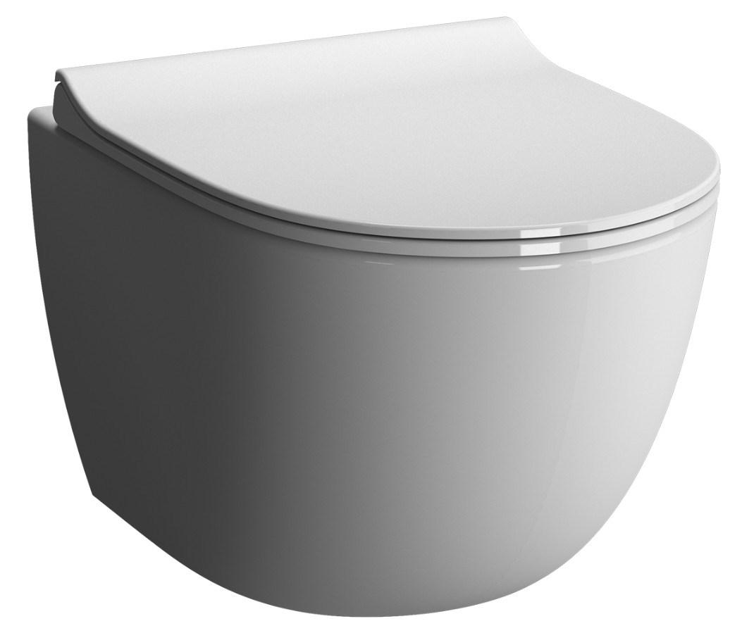 cuvette de wc suspendue sento sans bride vitra. Black Bedroom Furniture Sets. Home Design Ideas